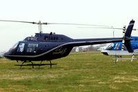 G-WIZZ @ EGBC - Agusta-Bell AB.206B Jet Ranger II [8540] Cheltenham Racecourse~G 14/03/2008