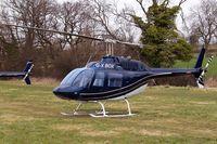 G-XBOX @ EGBC - Bell 206B-3 Jet Ranger III [3370] Cheltenham Racecourse~G 13/03/2008