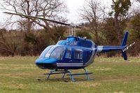 G-OAMI @ EGBC - Bell 206B Jet Ranger II [464] Cheltenham Racecourse~G 13/03/2008