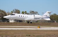 N717EP @ ORL - Lear 60