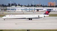 N931DN @ MIA - Delta MD-90