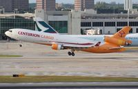 N985AR @ MIA - Centurion MD-11F