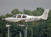 LX-NEU @ ELLX - Landing rwy 24 - by Shunn311
