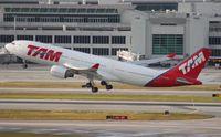 PT-MVS @ MIA - TAM A330-200 - by Florida Metal