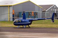 G-ODHB @ EGBJ - Robinson R-44 Raven II [10985] Staverton~G 14/03/2008 - by Ray Barber