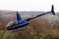 G-ODHB @ EGBC - Robinson R-44 Raven II [10985] Cheltenham Racecourse~G 14/03/2008 - by Ray Barber