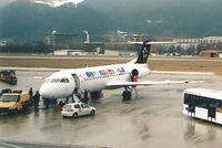 OE-LFG @ LOWI - Tyrolean Airways Winter 2003/2004 - by Maximilian Gruber