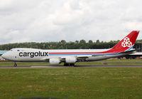 LX-VCE @ ELLX - Ready for take off rwy 24 - by Shunn311