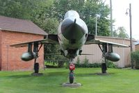 62-4425 - F-105G in front of VFW Hall Blissfield MI - by Florida Metal