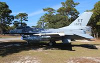 80-0573 @ VPS - F-16A Falcon at Air Force Armament Museum - by Florida Metal