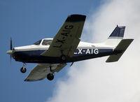 LX-AIG @ ELLX - Landing rwy 24 - by Shunn311