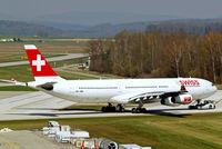 HB-JMB @ LSZH - Airbus A340-313X [545] (Swiss International Air Lines) Zurich~HB 07/04/2009 - by Ray Barber
