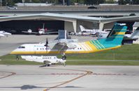 C6-BFG @ FLL - Bahamas Air Dash 8 - by Florida Metal