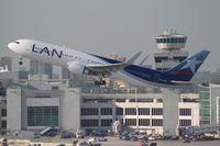 CC-BDI @ MIA - LAN 767-300 - by Florida Metal