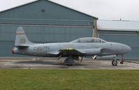 C-FUPN @ CYXU - Canadair T-33 MK 3 - by Mark Pasqualino