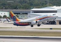 9Y-JMD @ FLL - Air Jamaica 737-800 - by Florida Metal