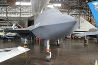 87-0800 @ FFO - YF-23A at Wright Patterson - by Florida Metal