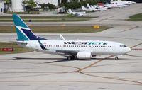 C-FEWJ @ FLL - West Jet 737-700