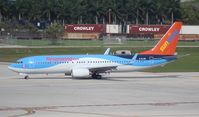 C-FLZR @ FLL - Sunwing/Thomson hybrid 737-800 - by Florida Metal