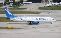 C-FTCX @ FLL - Canjet 737-800