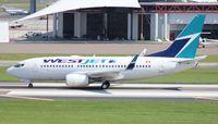 C-FWSO @ KTPA - West Jet 737-700