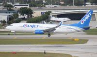 C-FYQO @ FLL - Canjet 737-800 - by Florida Metal