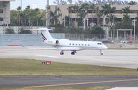 CS-DKI @ MIA - Gulfstream 550 - by Florida Metal