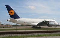 D-AIMH @ MIA - Lufthansa A380