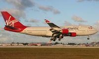 G-VHOT @ MIA - Virgin Atlantic 747-400