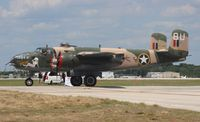 N25YR @ LAL - B-25N Yellow Rose