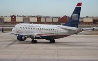 N107HQ @ DTW - USAirways E175