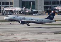N128UW @ MIA - USAirways A320