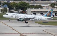 N211FR @ FLL - Grizwald Frontier Airlines