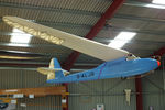 G-ALJR @ EGHL - Gliding Heritage Centre, Lasham - by Chris Hall
