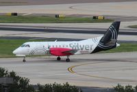 N347AG @ TPA - Saab 340