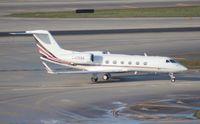 N405QS @ MIA - Net Jets G450