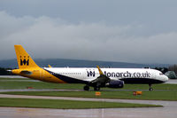 G-ZBAE @ EGCC - Departing Manchester - by Clive Pattle