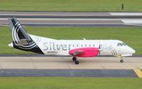N428XJ @ TPA - Silver Saab 340B