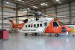 EI-ICU @ EIWF - EI-ICU S92  tucked up in the Coastguard hangar at Waterford - by Pete Hughes