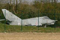 115 @ LFRJ - Dassault Etendard IV.P, aircraft's graveyard at Landivisiau naval air base (LFRJ). This aircraft was destroyed in 2014. - by Yves-Q