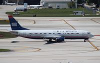 N452UW @ FLL - US Airways 737-400