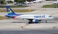 N506NK @ FLL - Spirit A319