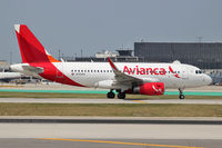 N703AV @ KORD - Avianca 'Bus with sharklets taxiing to the terminal at ORD