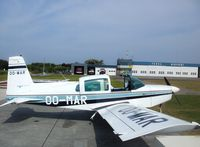OO-MAR @ EHTX - Stopover at Texel Airport (North Holland) on the way to Ameland by a hot and sunny day. After a warm welcome, some fresh air and refueling for both aircraft & crew were necessary. - by Leroy Patricia