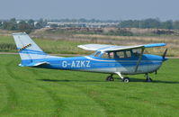 G-AZKZ @ EGSM - Parked at Beccles.
