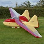 BGA1999 @ EGTH - 1. BGA1999 at the rousing season finale Race Day Air Show at Shuttleworth, Oct. 2014.