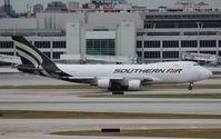 N558CL @ MIA - Southern 747-400F
