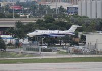 N621FX @ FLL - Flexjet Lear 40 - by Florida Metal