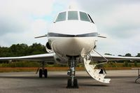 36 @ LFES - French naval aviation Dassault Falcon 50, Static display, Guiscriff airfield (LFES) open day 2014 - by Yves-Q