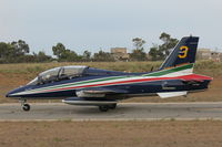 MM55059 @ LMML - MB339 MM55059/3 Frecce Tricolori Italian Air Force - by Raymond Zammit